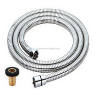High quality ss 304 made in zhejiang yuyao 1.5m shower hose