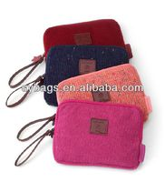 nylon zipper make up pouch cosmetics bag for women