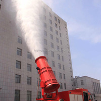 CE 150 KW spray 150M dust suppression equipment /fog cannon dust prevention