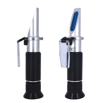 Large Measuring Range 0%-80% Brix Refractometer with Automatic Temperature Compensation
