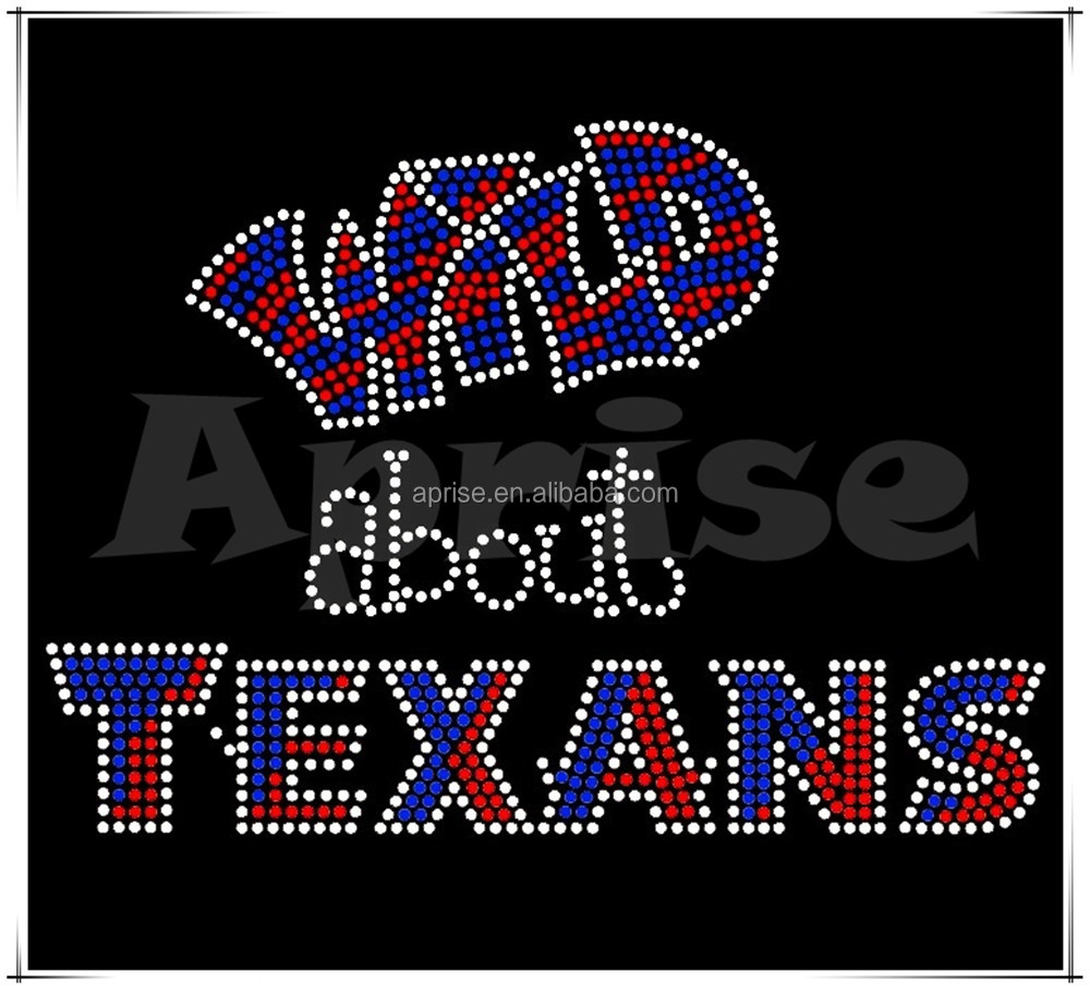 wholesale rhinestone accessories of Wild about TEXANS