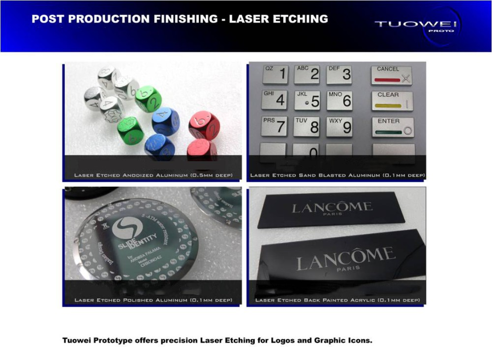 CNC Milling Sample Rapid Prototyping Producer