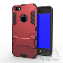 hard hybrid tpu pc slim armor case for iphone 5