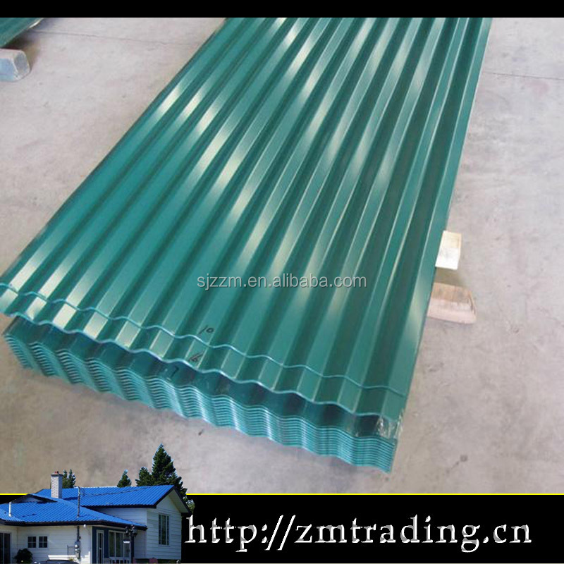 waterproof steel roof covering