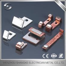 New design copper stamping metal spare parts die pressing brass components