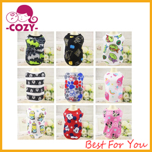 2017 Fashion Puppy Dog T Shirt Dog Vest Puppy Vest Pet Clothing Puppies Clothes for Small Dogs Doggie Dress Summer Apparel