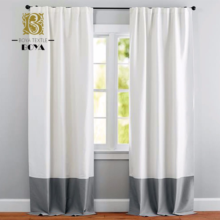 New Style Upgraded Version Cotton Office Curtains And Blinds