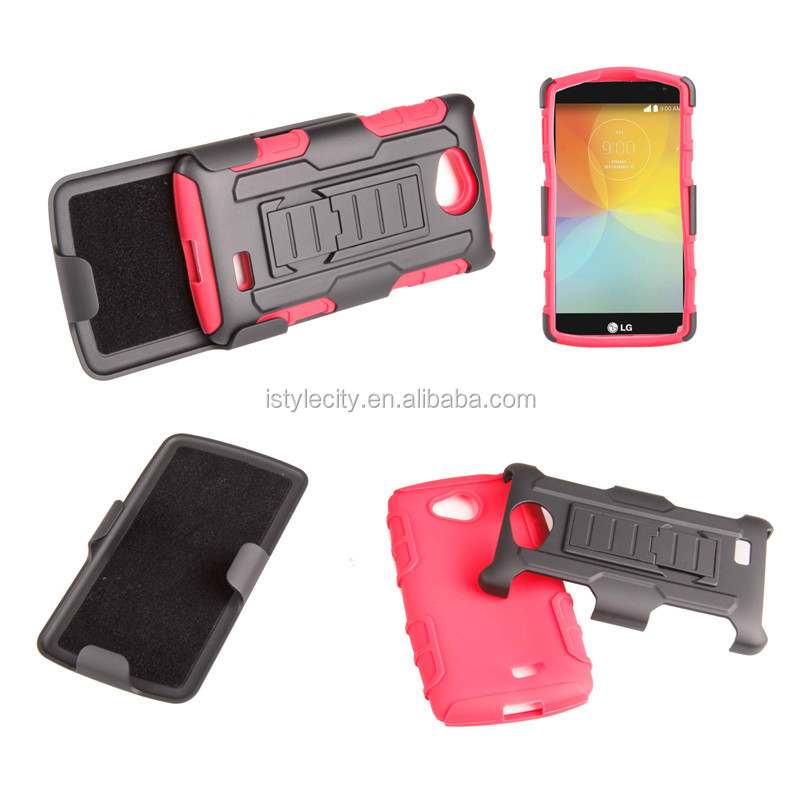 Dual Layer Protective Case for LG Tribute Optimus F60