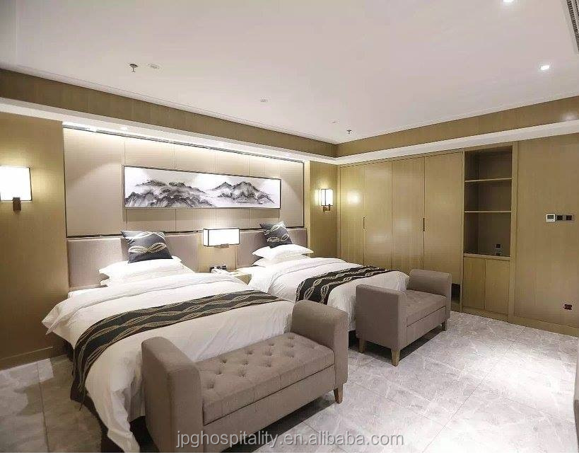 New hotel & resort project Hotel bedroom hospitality furniture foshan factory price