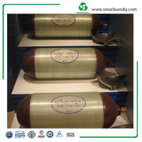 Type II CNG Composite Cylinder Used for Taxies, Cars, Buses, Trucks with International Certification