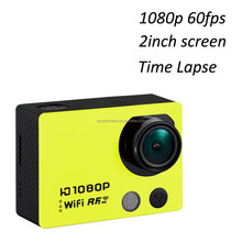 Time lapse 12MP 1080p 60fps 4k 10fps wifi action camera xiaomi yi accessories