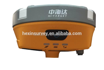 High precision Hi-target V90 Plus gps rtk dual frequency surveying instrument base and rover
