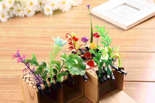 Resin Artificial Grass Germination Bean Sprouts Flowers Hairpin Headdress Accessory