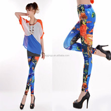 Ocean World printed Fashion Women leggings wholesalers in tirupur leggings activewear