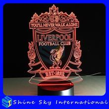 7 color transformation 3d night light led table lamp,new fashion new arrival 3d night light,solar power plush animal night light