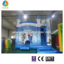 Yuele Theme of Fairy Tale Frozen World Inflatable World With Pool