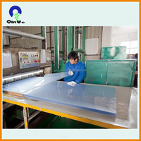 High Quality Clear Transparent Rigid PVC Sheet With PE Masking Film