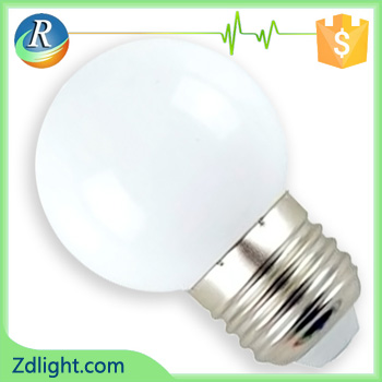 1W G45 colorful bulb
