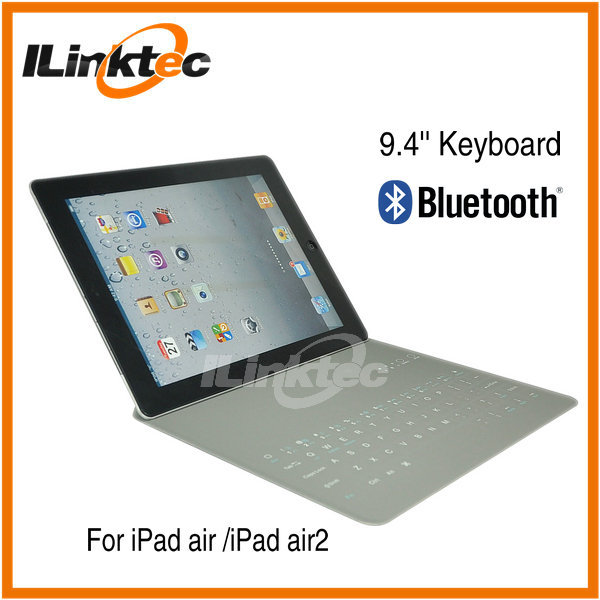 New Ultra Slim Case Build in 9.4 inch Bluetooth 3.0 keyboard for iPad air with Case