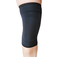 Neoprene protector compression knee sleeve