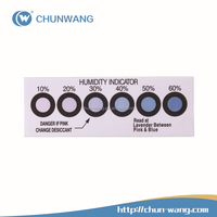 hot selling high efficient cobalt free 1 single dot Humidity Indicator Card