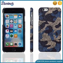 Mobile phone accessories frosted PU leather phone case for iphone 7 plus