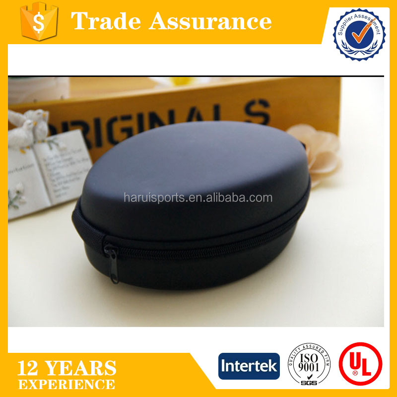 Outdoor EVA moulded Earphone Accessories box cell phone protect bag card and coin storage bag