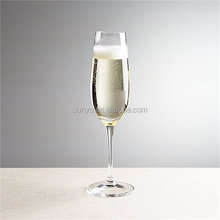 Handmade Glassware Manufacturer Fancy Long Stem Bohemia Style Cheap Champagne Flutes for Wedding/Party
