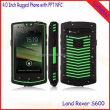 Cheap Rugged Android Mobile Phone with NFC PPT Walkie Talkie OTG 4.0 Inch IPS Screen Dual Core 4GB ROM Smartphone