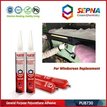 Odorless Black Auto Glass Silicone Polyurethane Joint Sealant