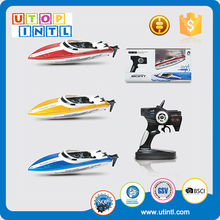 Wholesale new plastic 2.4G battery powered toy boat