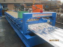 Pre-Painted Galvanized Sheet PPGI single skin profile cold roll forming machine