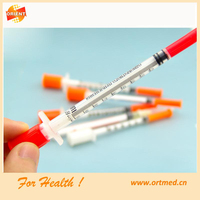 Disposable 1ml tuberculin/insulin syringe