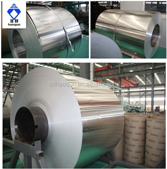 China produced GB nice finish high quality coil aluminum on stock