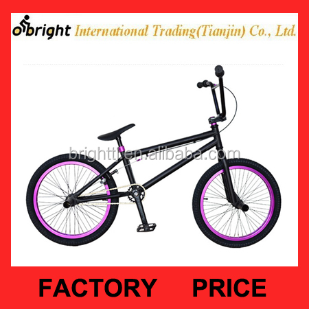 20 Inch Steel Frame Freestyle Bike / Street BMX Bike
