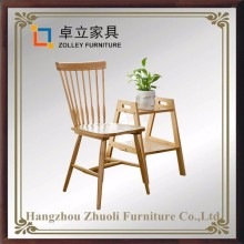 Korea hot sale Colorful Outdoor wooden Garden Chairs wholesale