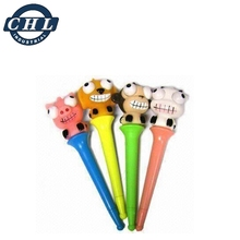 3D cartoon plastic eye popping pen for kids