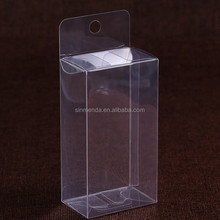 Wholesale PET folding clear lure favor fishing box plastic