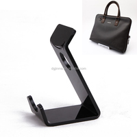 fashion acrylic handbag display stand