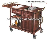 gas Flambe trolley single burner