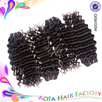 7a Raw unprocessed wholesale virgin human hair real indian hair for sale 10 -32 inch virgin indian deep curly hair for sexy lady