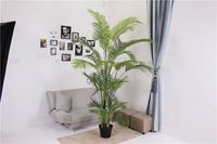 New coming OEM quality green mini artificial kwai tree plants in pots
