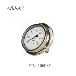 All stainless steel 4 inch 100mm oil filled pressure gauge