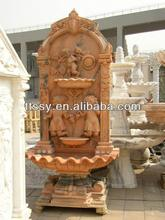 outdoor garden wall fountain