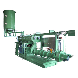 Hot sale single screw animal fish feed pellet processing extruder machine