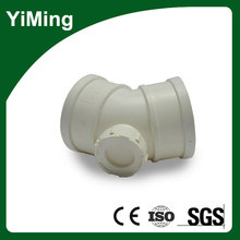 YiMing 45 Degree Elbow with Check Port in Pvc Pipes