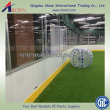 Football and soccer stadium barrier dasher boards