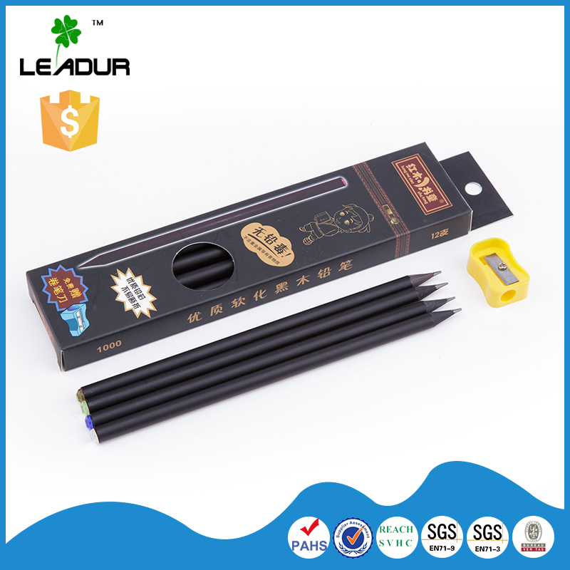 New products high quality low price diamond black color pencil