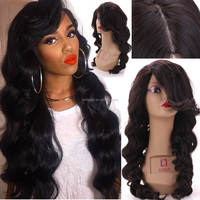 Wholesale Stock Virgin Brazilian Human Hair Afro Kinky Curlymicro braided lace front wigs