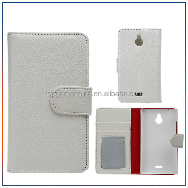 Leather mobile phone case for nokia x2 cell phone